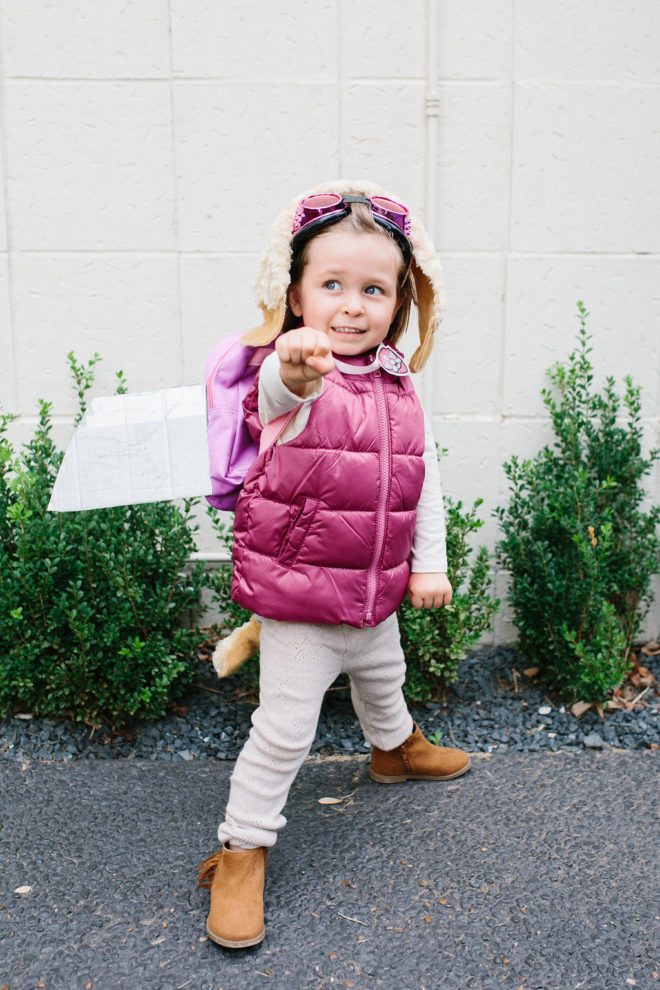Best ideas about DIY Skye Paw Patrol Costume . Save or Pin DIY Halloween Paw Patrol Skye Costume The Effortless Chic Now.