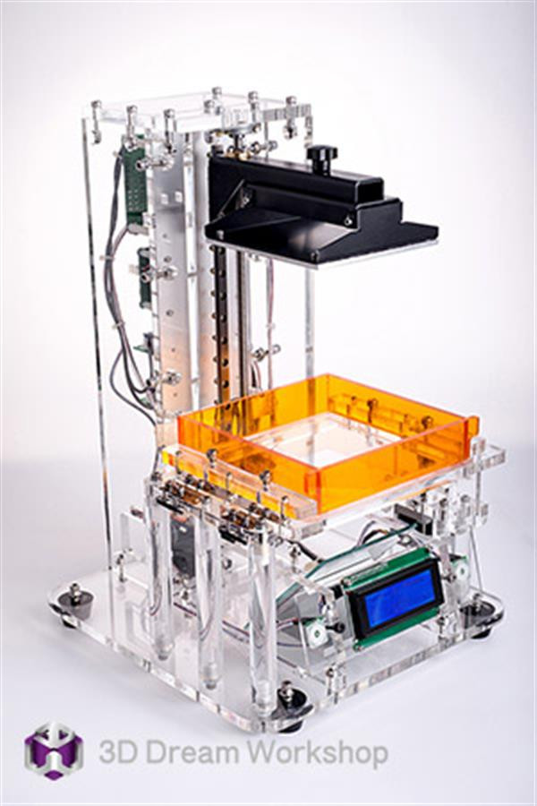 Best ideas about DIY Sla Printer . Save or Pin 3ders Funplay DIY a make it yourself SLA 3D printer Now.