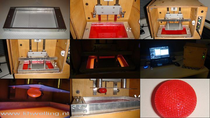 Best ideas about DIY Sla Printer . Save or Pin DIY DLP printer FEP foil Utrecht Build Your Own SLA SLS Now.