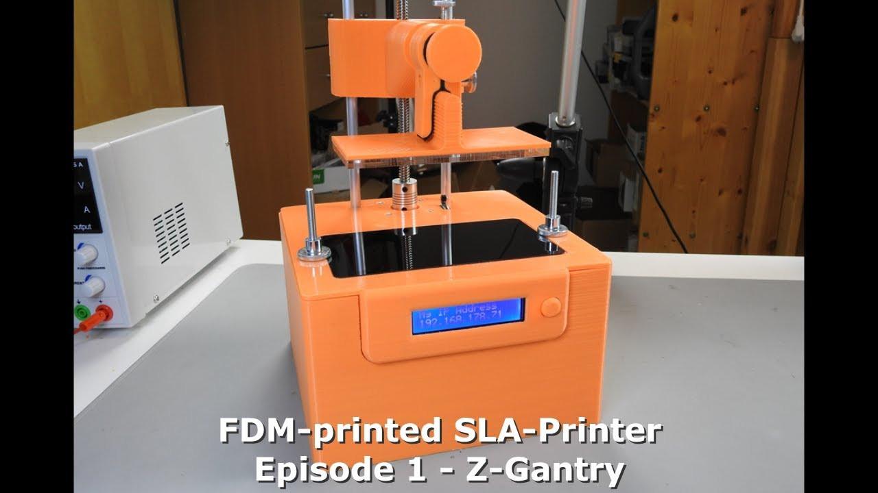 Best ideas about DIY Sla Printer . Save or Pin DIY FDM printed SLA Printer Part 1 Now.