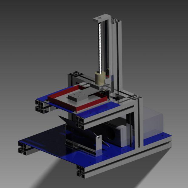 Best ideas about DIY Sla Printer . Save or Pin DIY high resolution 3D DLP printer 3D SLA printer Now.