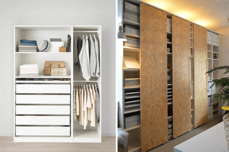 Best ideas about DIY Sliding Closet Doors . Save or Pin Hackers Help How to make sliding closet doors for PAX Now.