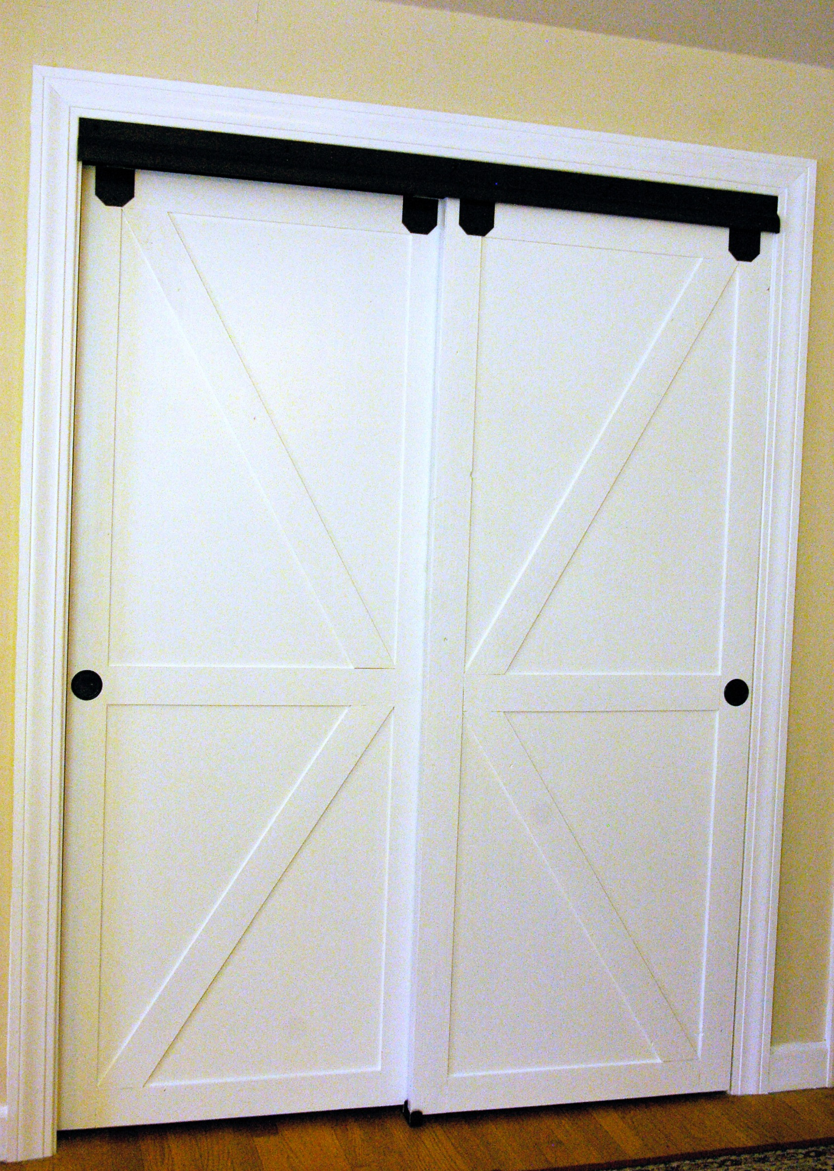 Best ideas about DIY Sliding Closet Doors . Save or Pin Remodelaholic Now.