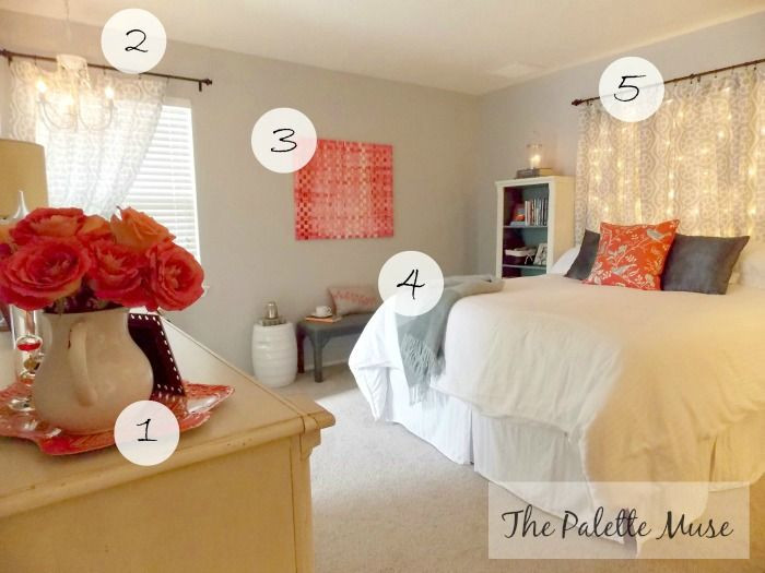 Best ideas about DIY Small Bedroom Makeover . Save or Pin Master Bedroom Makeover on a Bud Now.
