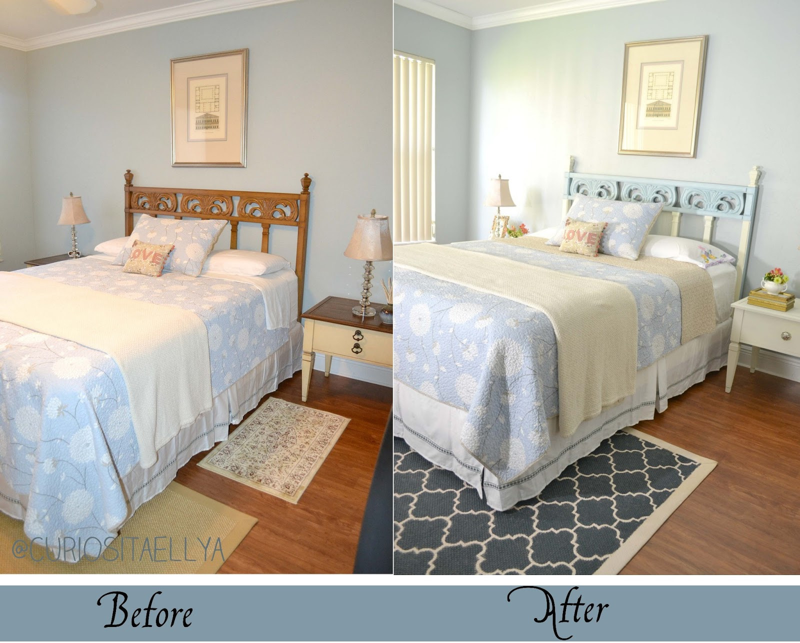 Best ideas about DIY Small Bedroom Makeover . Save or Pin Curiositaellya Guest Bedroom Furniture Makeover DIY Now.