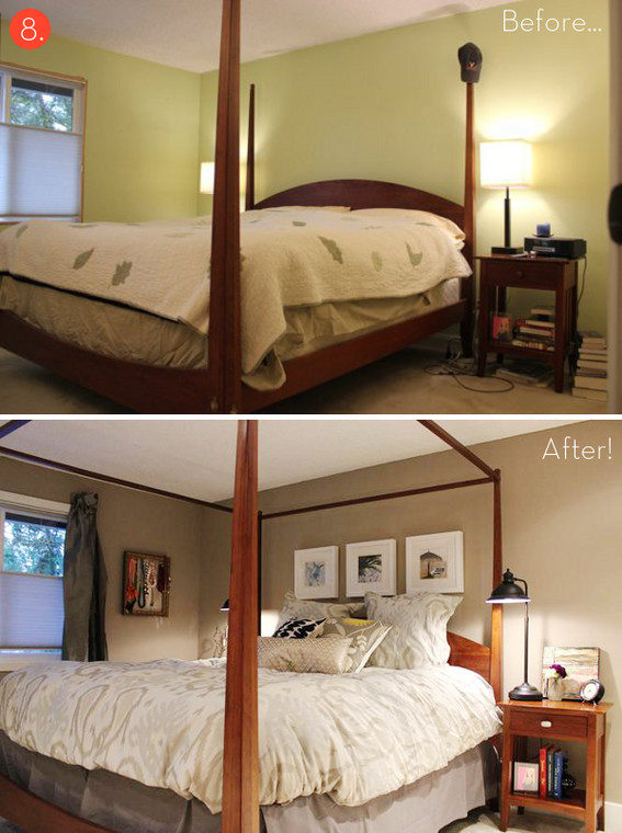 Best ideas about DIY Small Bedroom Makeover . Save or Pin Roundup 10 Inspiring Bud Friendly Bedroom Makeovers Now.