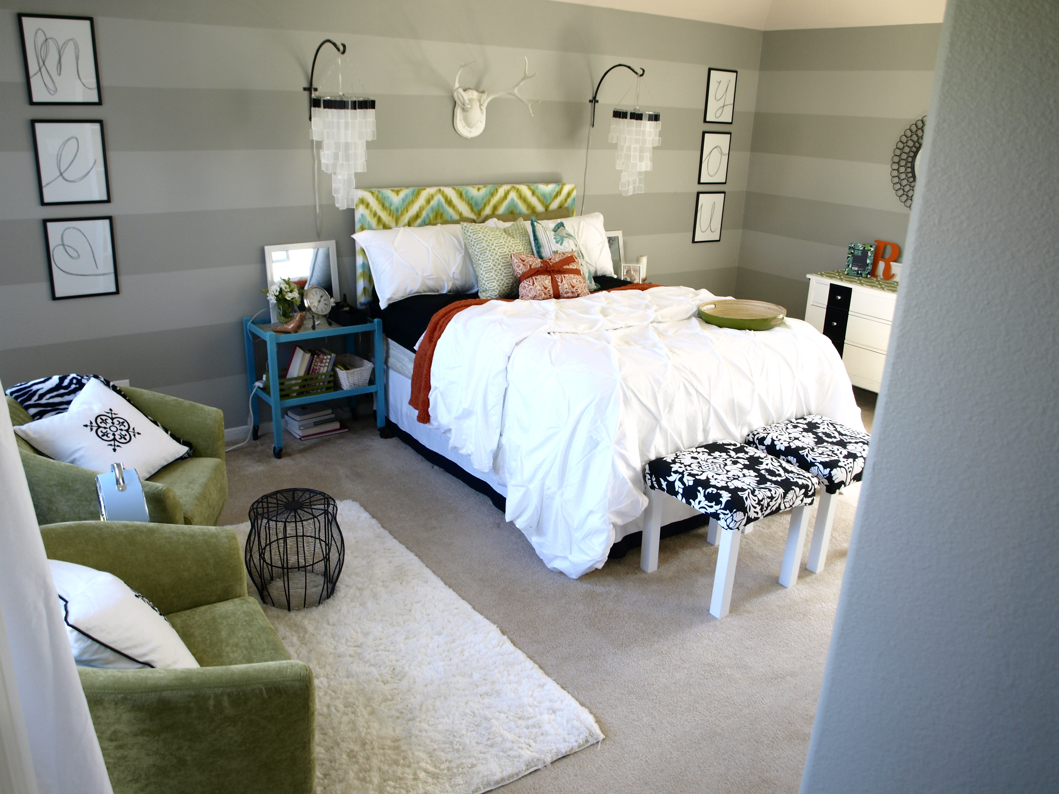 Best ideas about DIY Small Bedroom Makeover . Save or Pin Master Bedroom Makeover by See Cate Create DIY Show f Now.