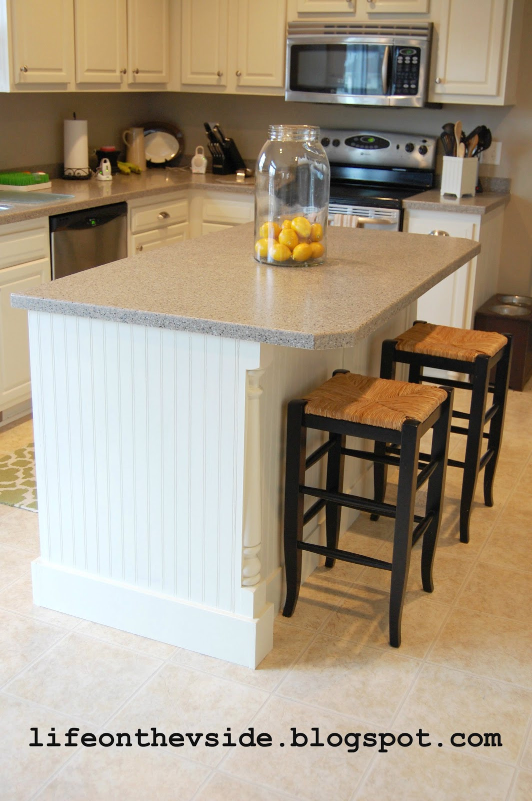 Best ideas about DIY Small Kitchen Island . Save or Pin the V Side DIY Kitchen Island Update Now.