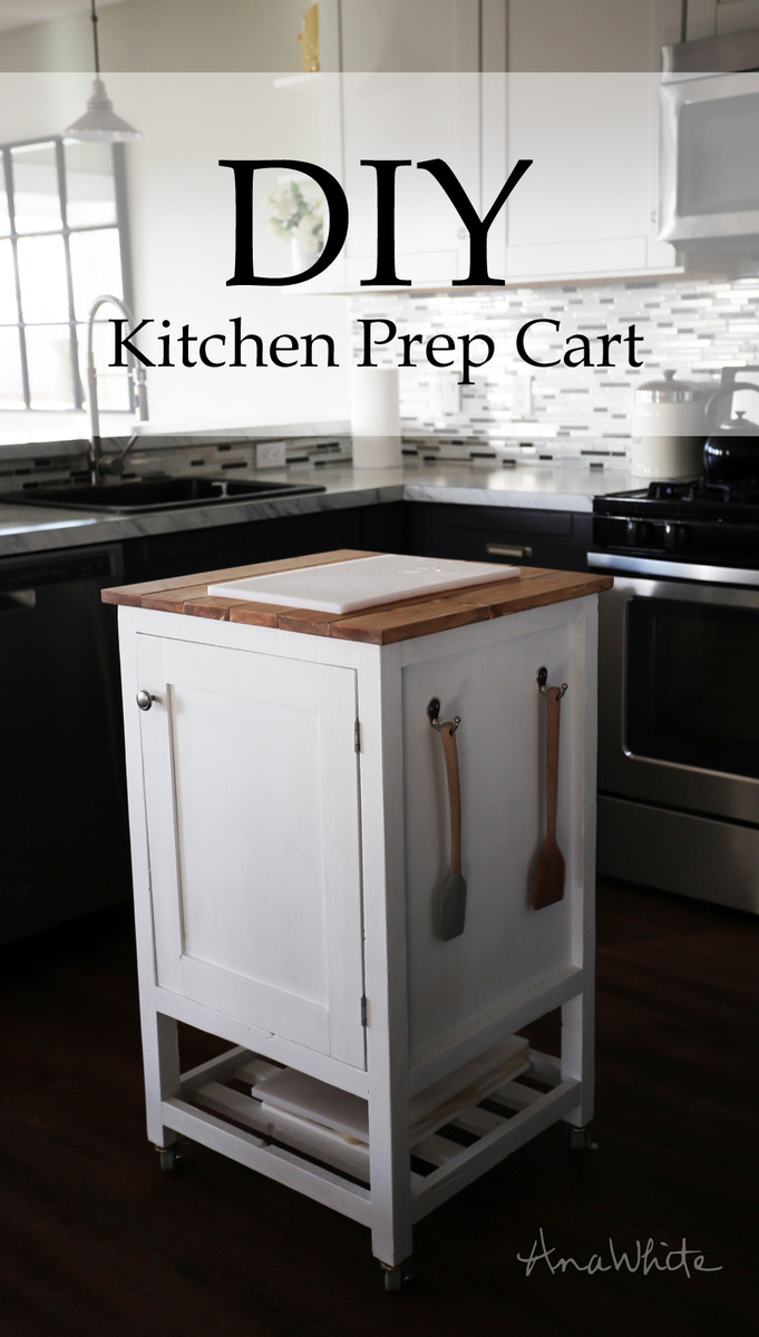 Best ideas about DIY Small Kitchen Island . Save or Pin Ana White Now.