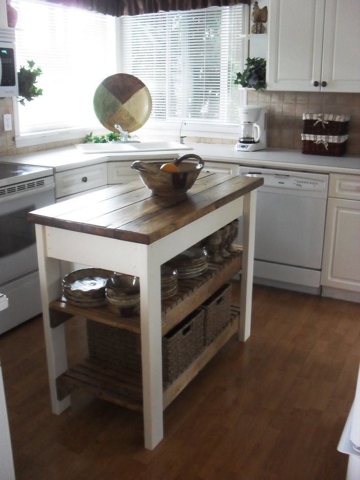 Best ideas about DIY Small Kitchen Island . Save or Pin Best 25 Diy kitchen island ideas on Pinterest Now.