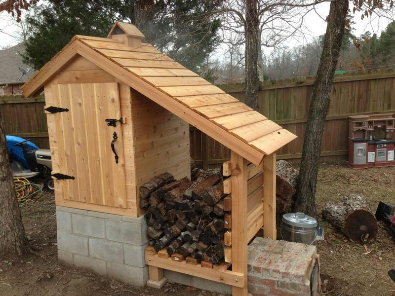 Best ideas about DIY Smokehouse Plans . Save or Pin DIY Cedar Smokehouse Now.