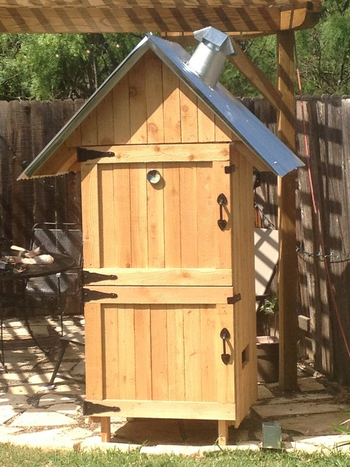 Best ideas about DIY Smokehouse Plans . Save or Pin Build your own timber smoker Now.