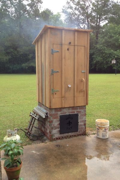 Best ideas about DIY Smokehouse Plans . Save or Pin 23 Awesome DIY Smokehouse Plans You Can Build in the Backyard Now.