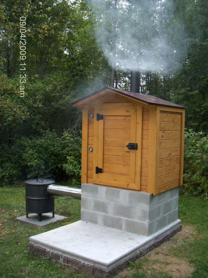 Best ideas about DIY Smokehouse Plans . Save or Pin How to build a cedar smokehouse – The Owner Builder Network Now.