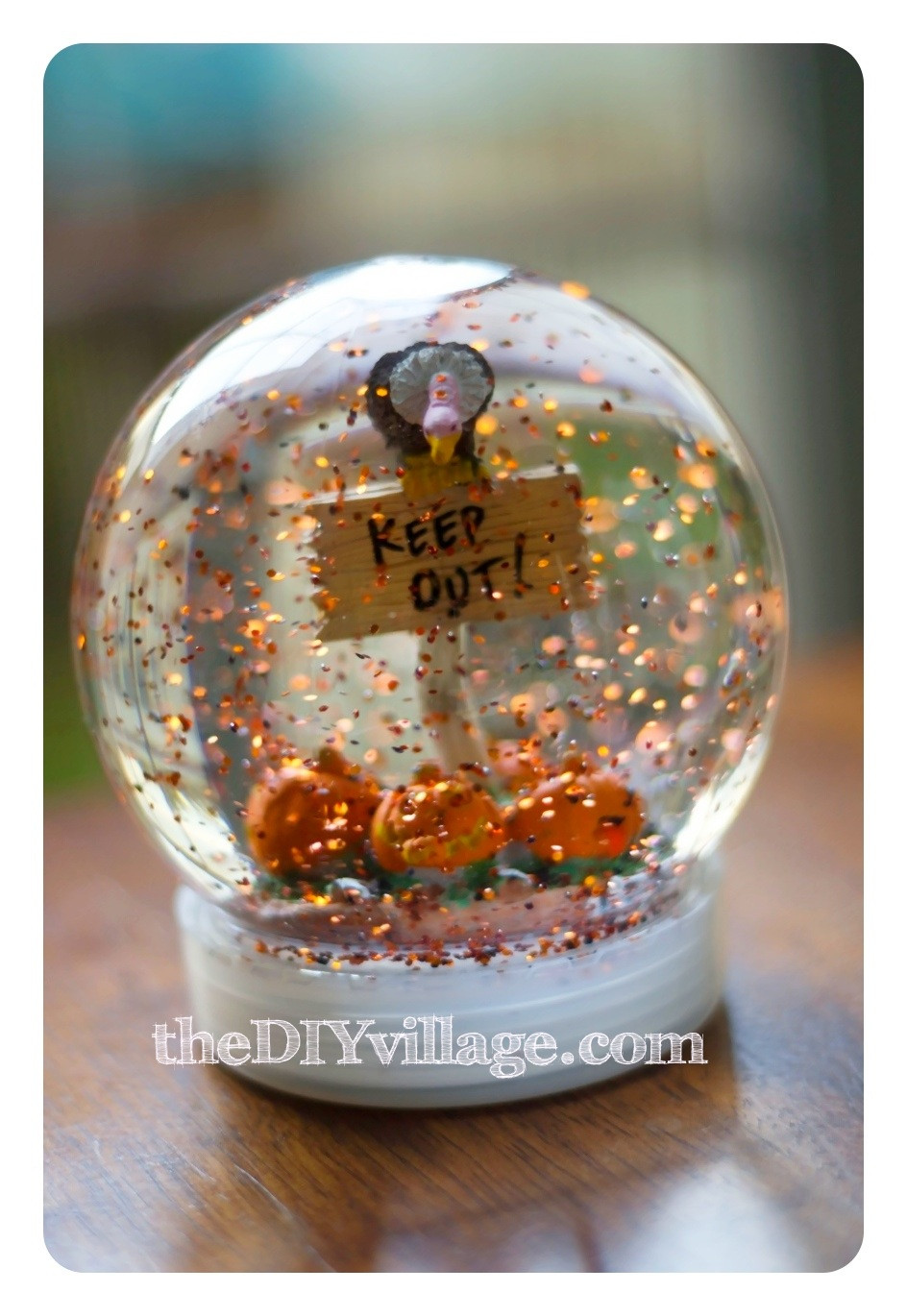 Best ideas about DIY Snow Globes . Save or Pin Guest Post Halloween Snow Globe from theDIYvillage Sew Now.