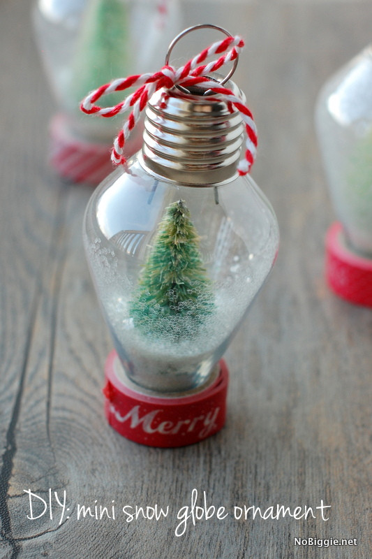 Best ideas about DIY Snow Globes . Save or Pin DIY mini snow globe ornament Now.