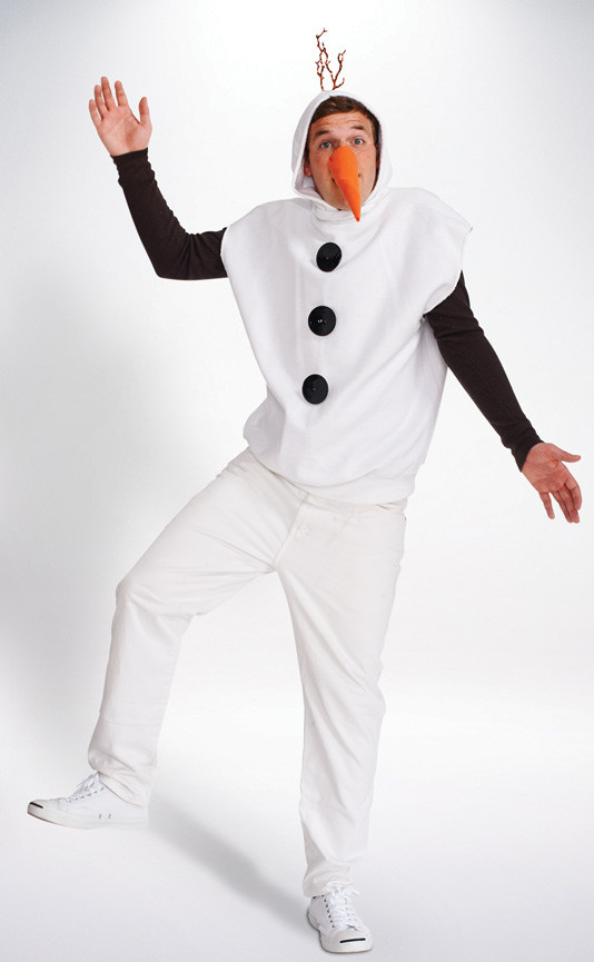 Best ideas about DIY Snowman Costumes . Save or Pin Snowman Costume Mens Halloween Costumes Now.
