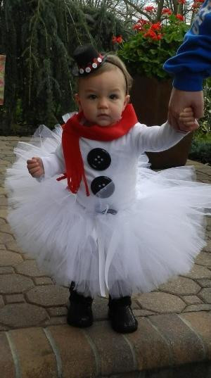 Best ideas about DIY Snowman Costumes . Save or Pin Snowman Tutu Halloween Christmas Costume by Now.
