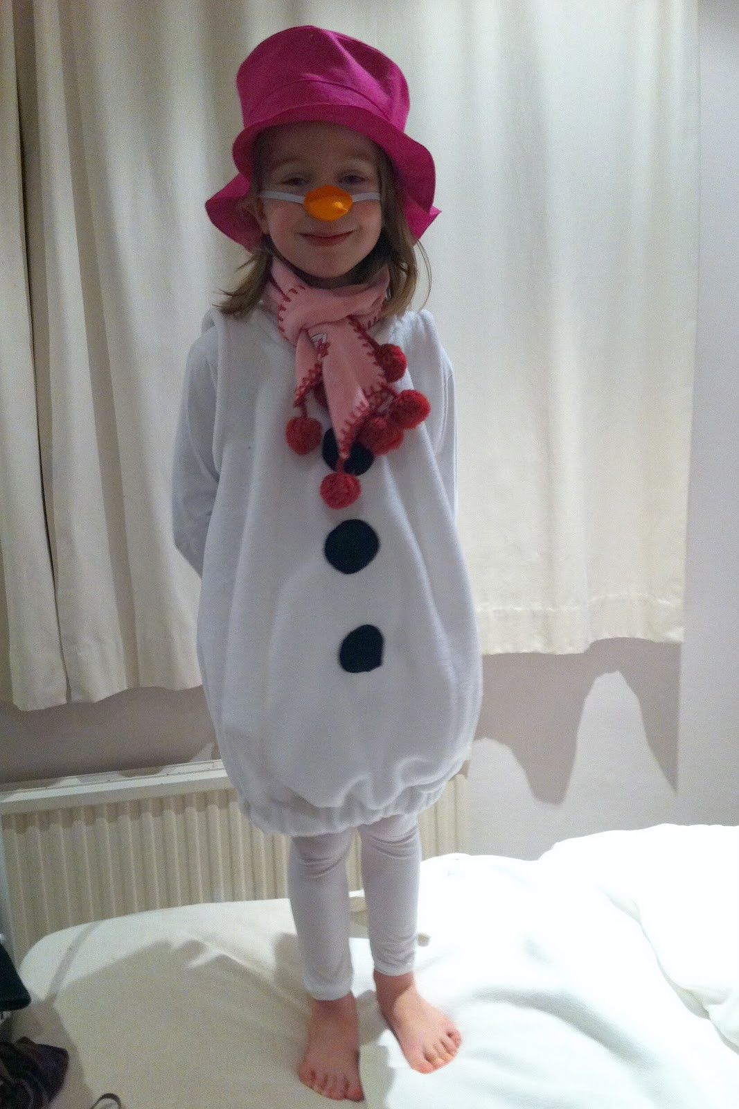 Best ideas about DIY Snowman Costumes . Save or Pin How To Make Olaf Costume Now.