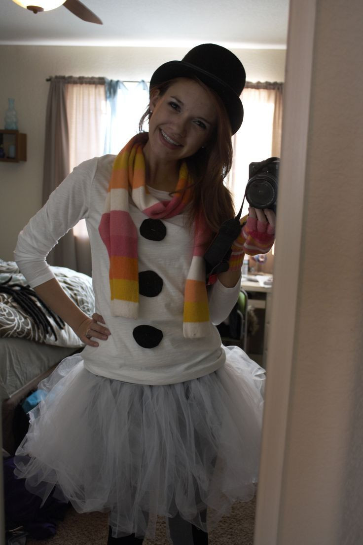 Best ideas about DIY Snowman Costumes . Save or Pin 7 best Winter Wonderland Costumes images on Pinterest Now.
