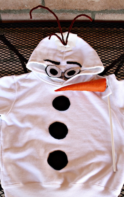 Best ideas about DIY Snowman Costumes . Save or Pin DIY Olaf Costume Now.