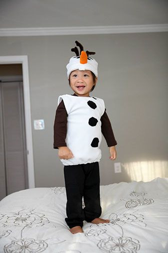 Best ideas about DIY Snowman Costumes . Save or Pin DIY Olaf costume via Fabric Now.
