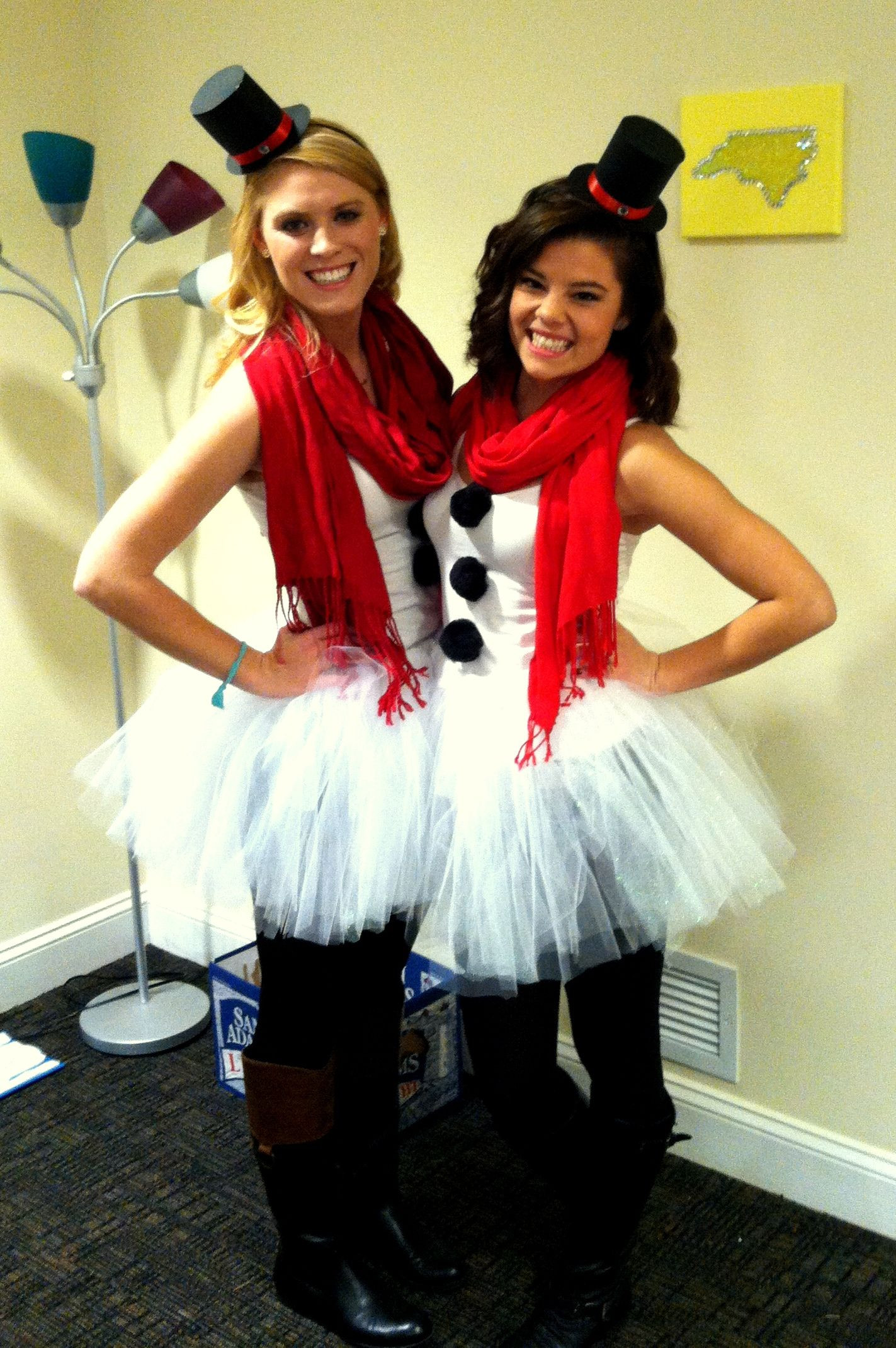 Best ideas about DIY Snowman Costumes . Save or Pin Do you wanna build a snowman DIY snowman costume Now.