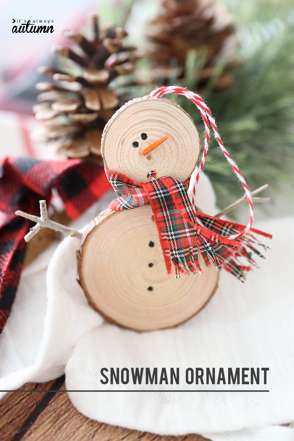 Best ideas about DIY Snowman Ornaments . Save or Pin 25 Easy Christmas Crafts for Kids Crazy Little Projects Now.