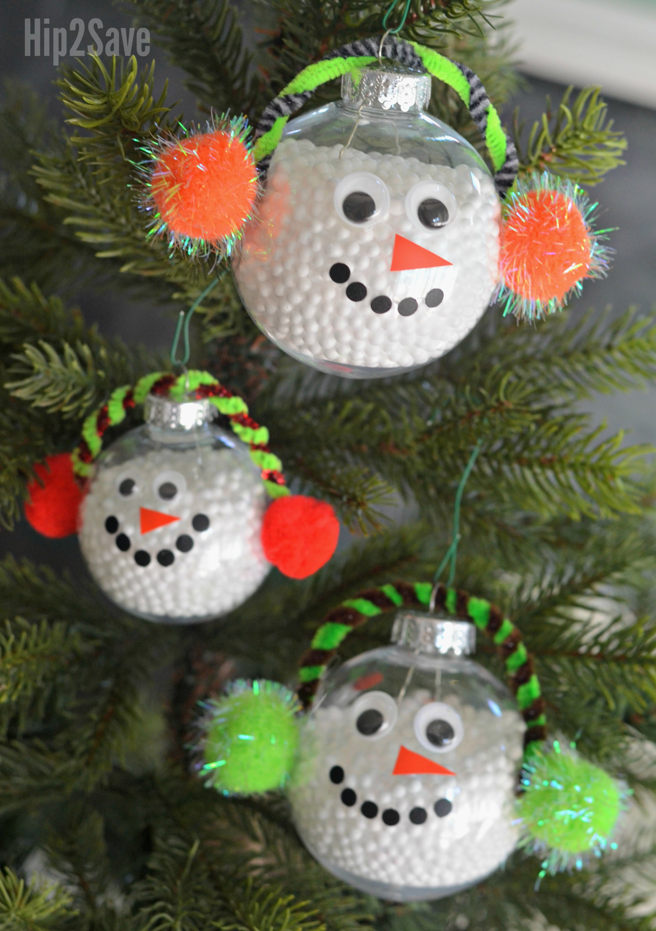 Best ideas about DIY Snowman Ornaments . Save or Pin DIY Simple Snowman Christmas Ornament Hip2Save Now.