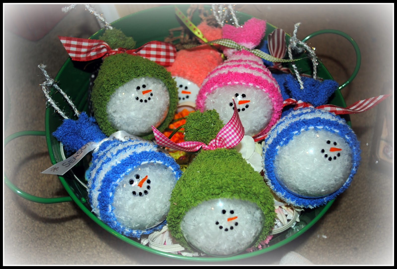 Best ideas about DIY Snowman Ornaments . Save or Pin Simply Cute Creations Snowmen Ornaments Now.