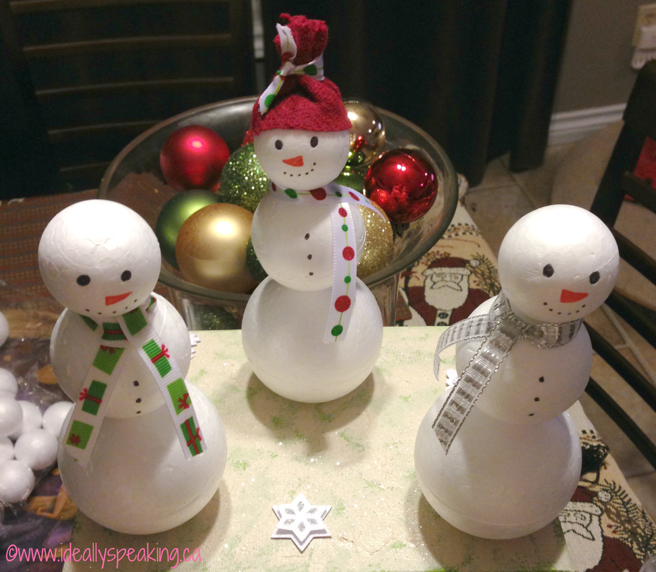 Best ideas about DIY Snowman Ornaments . Save or Pin PinterestHouseProject Christmas Edition Ideally Now.
