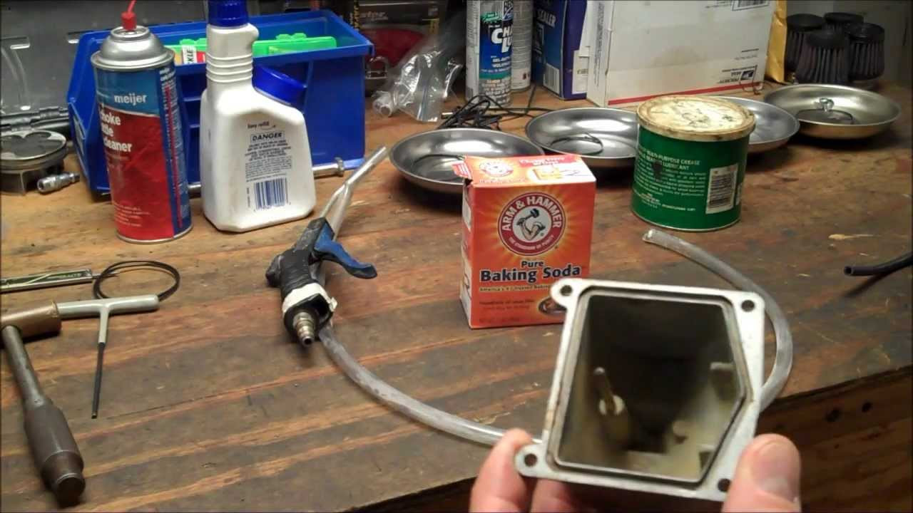 Best ideas about DIY Soda Blaster . Save or Pin How To DIY Soda Blaster Cleaning Motorcycle Carburetor Now.