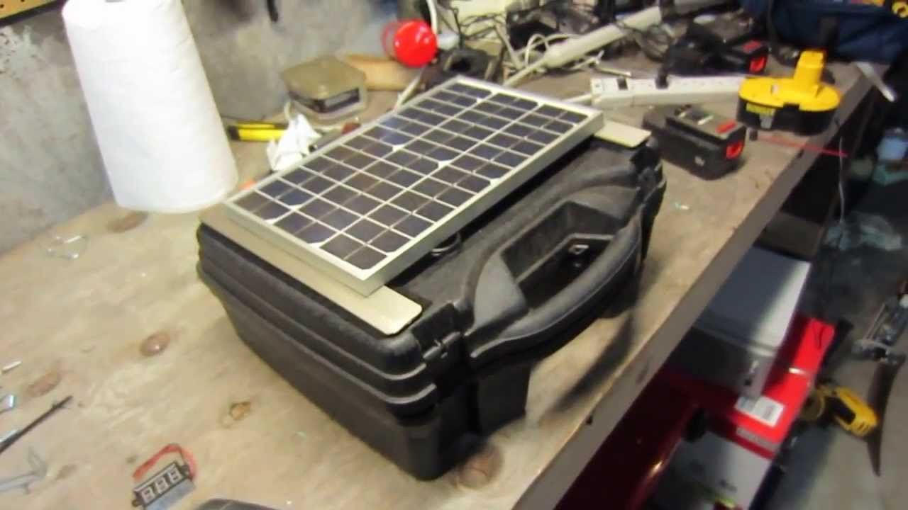Best ideas about DIY Solar Generator . Save or Pin How To Build A High Quality Portable Homemade Solar Now.