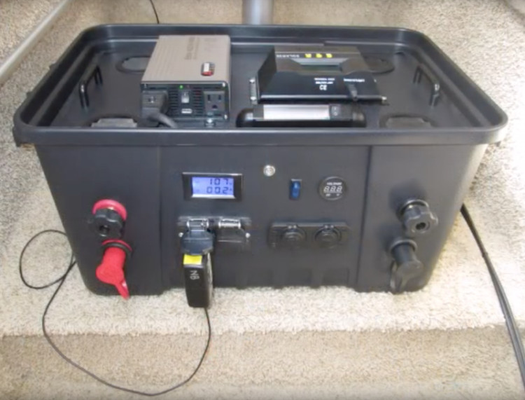 Best ideas about DIY Solar Generator . Save or Pin Build the Fisher Solar Generator My Power Now Now.