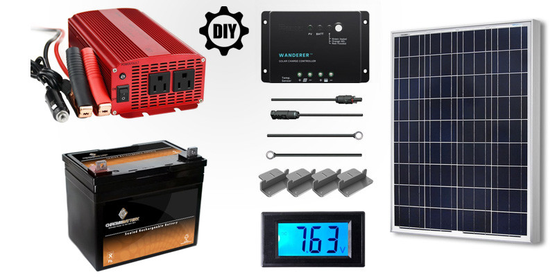 Best ideas about DIY Solar Generator . Save or Pin DIY Solar Generator How to Make a DIY Solar Generator Now.