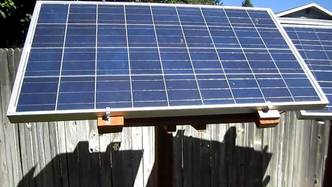 Best ideas about DIY Solar Panel . Save or Pin DIY Solar Panel Rack Now.