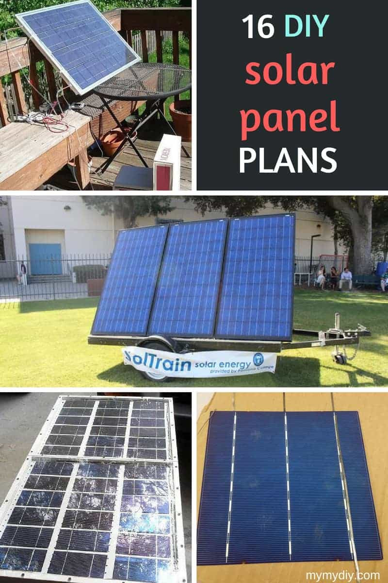 Best ideas about DIY Solar Panel . Save or Pin 16 Clever DIY Solar Panel Plans [Free Blueprints Now.