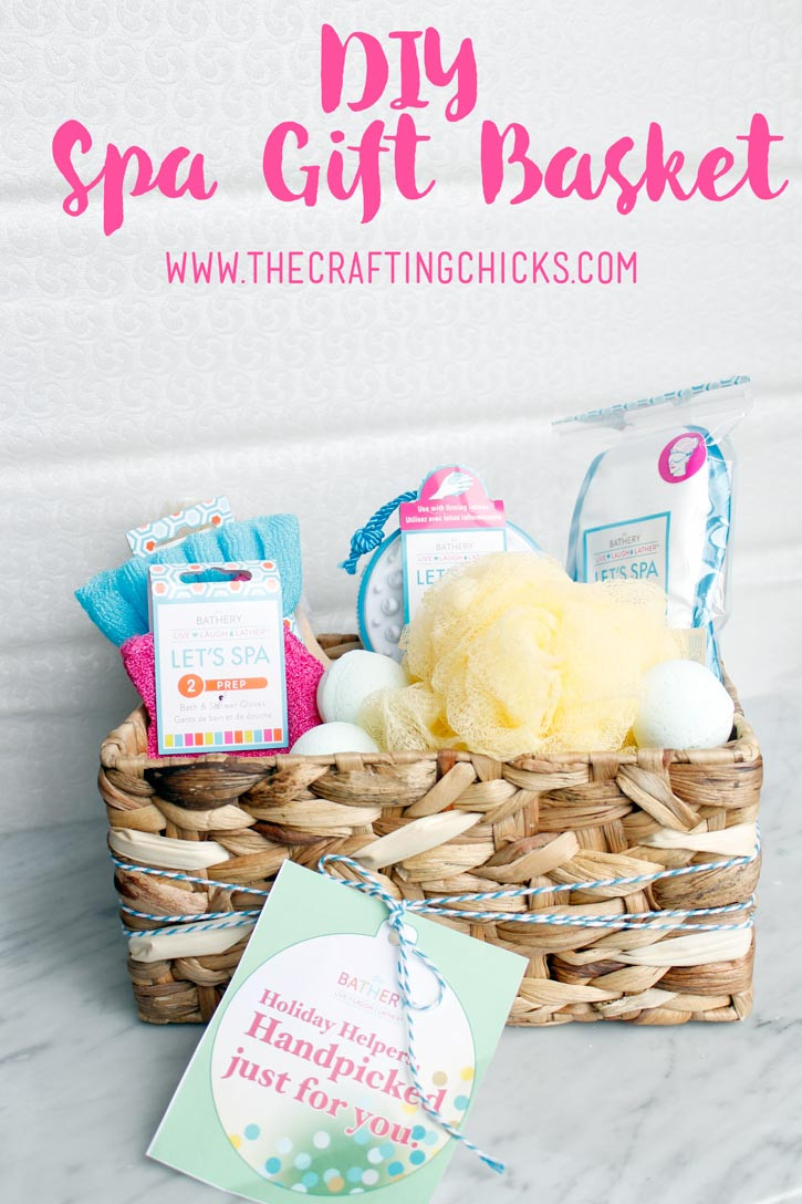 Best ideas about DIY Spa Gift Baskets . Save or Pin DIY Spa Gift Basket Now.