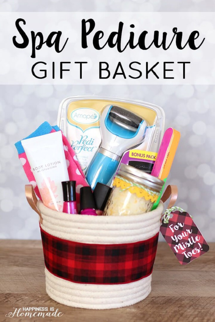 Best ideas about DIY Spa Gift Baskets . Save or Pin Top 10 DIY Gift Basket Ideas for Christmas Top Inspired Now.
