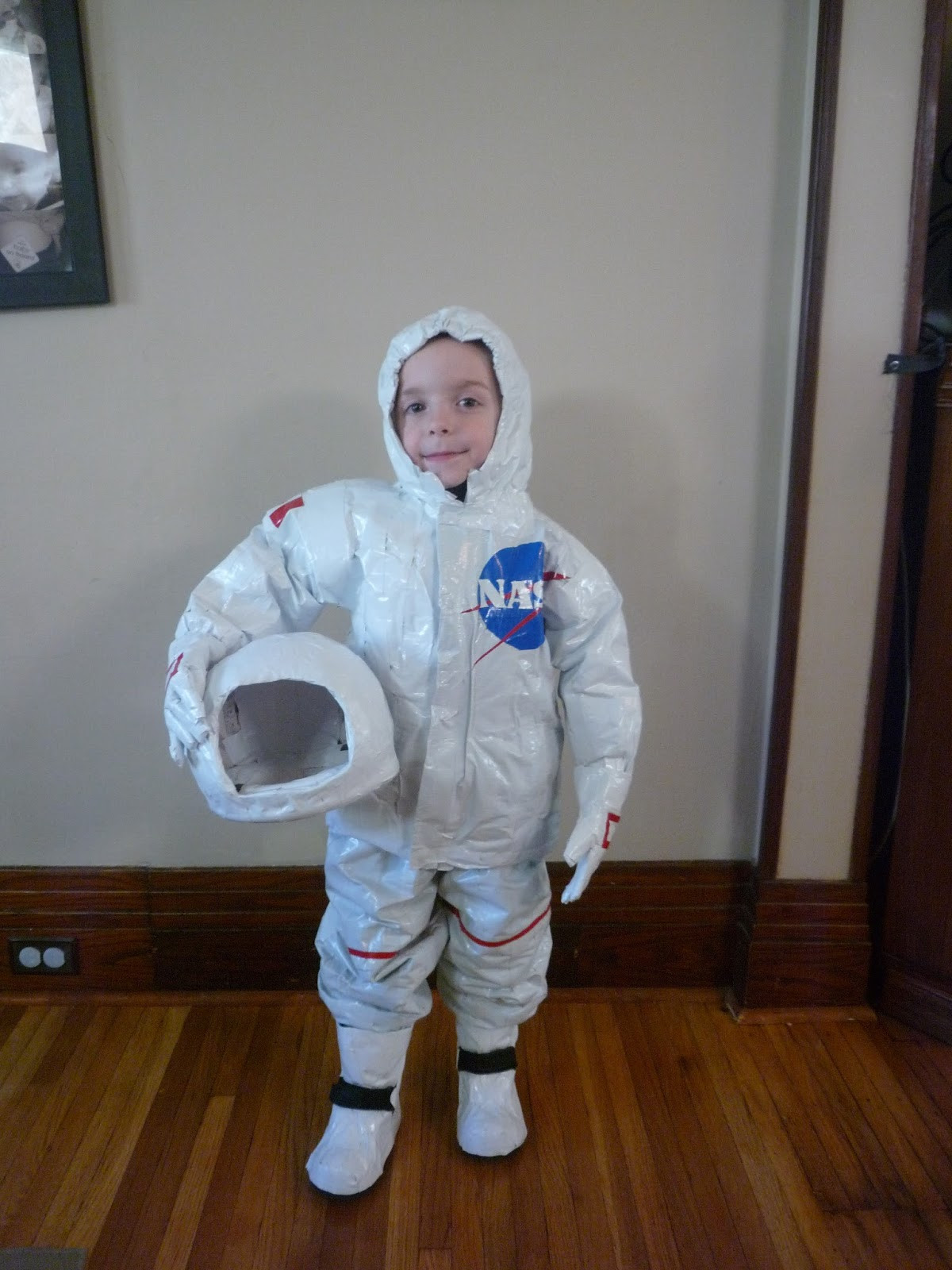 Best ideas about DIY Space Costume . Save or Pin Full Time Frugal DIY childs costume $13 Astronaut Now.