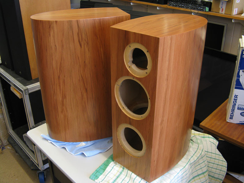 Best ideas about DIY Speakers Cabinet . Save or Pin Clearwave RBR curved cabinet build diyAudio Now.