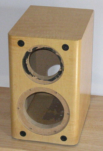 Best ideas about DIY Speakers Cabinet . Save or Pin Maple Finished DIY Speaker Cabinet Center Channel Box Now.