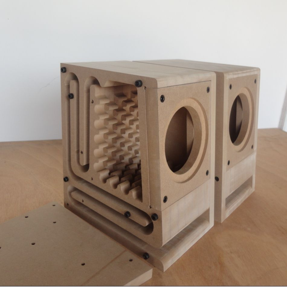 Best ideas about DIY Speakers Cabinet . Save or Pin Maze Maze fever assembly speaker empty cabinet 4 inch Now.