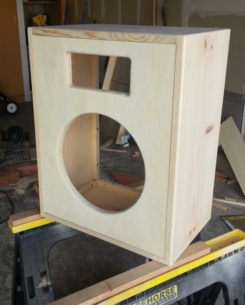 Best ideas about DIY Speakers Cabinet . Save or Pin Building a 1x12 Guitar Speaker Cabinet ToddFredrich Now.