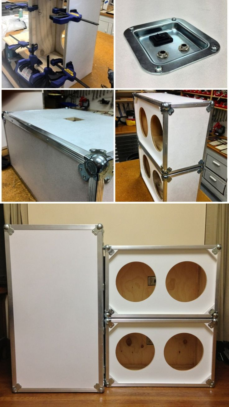Best ideas about DIY Speakers Cabinet . Save or Pin DIY Custom 2x12 guitar speaker cabinets Now.