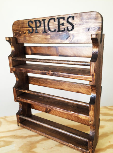 Best ideas about DIY Spice Rack Plans . Save or Pin DIY Spice Rack MyOutdoorPlans Now.