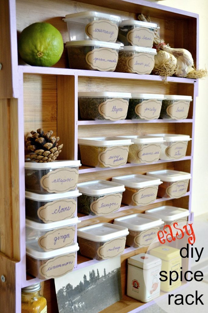 Best ideas about DIY Spice Rack Plans . Save or Pin PDF Plans Easy Spice Rack Plans Download free outdoor Now.