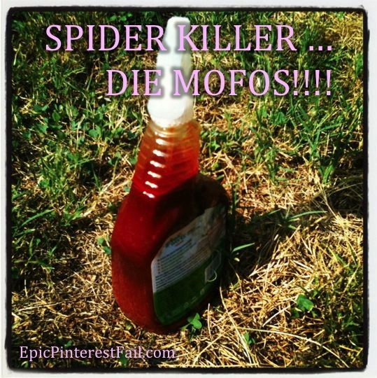 Best ideas about DIY Spider Killer . Save or Pin 42 best images about Epic Pinterest Fails on Pinterest Now.