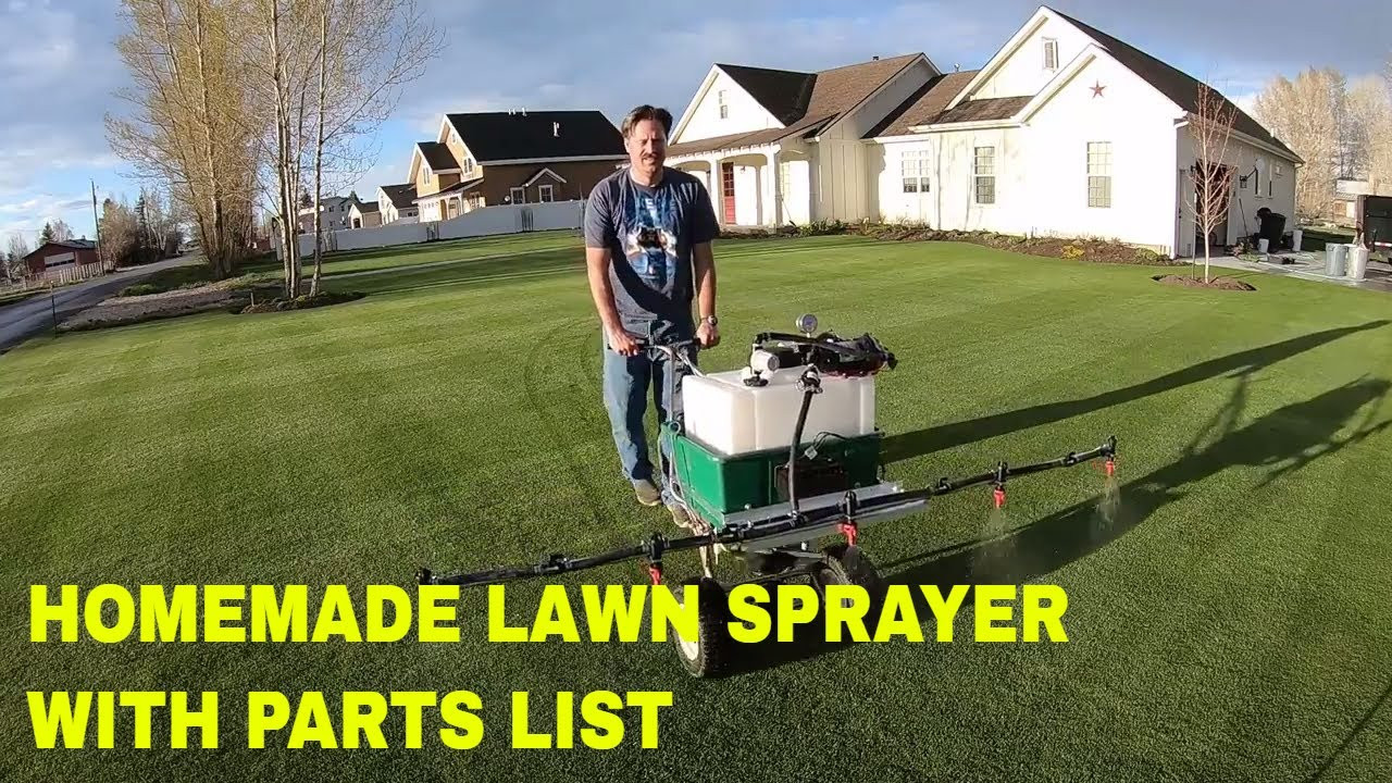 Best ideas about DIY Sprayer Boom Kit . Save or Pin How to build a HOMEMADE LAWN SPRAYER 5 nozzle boom Now.