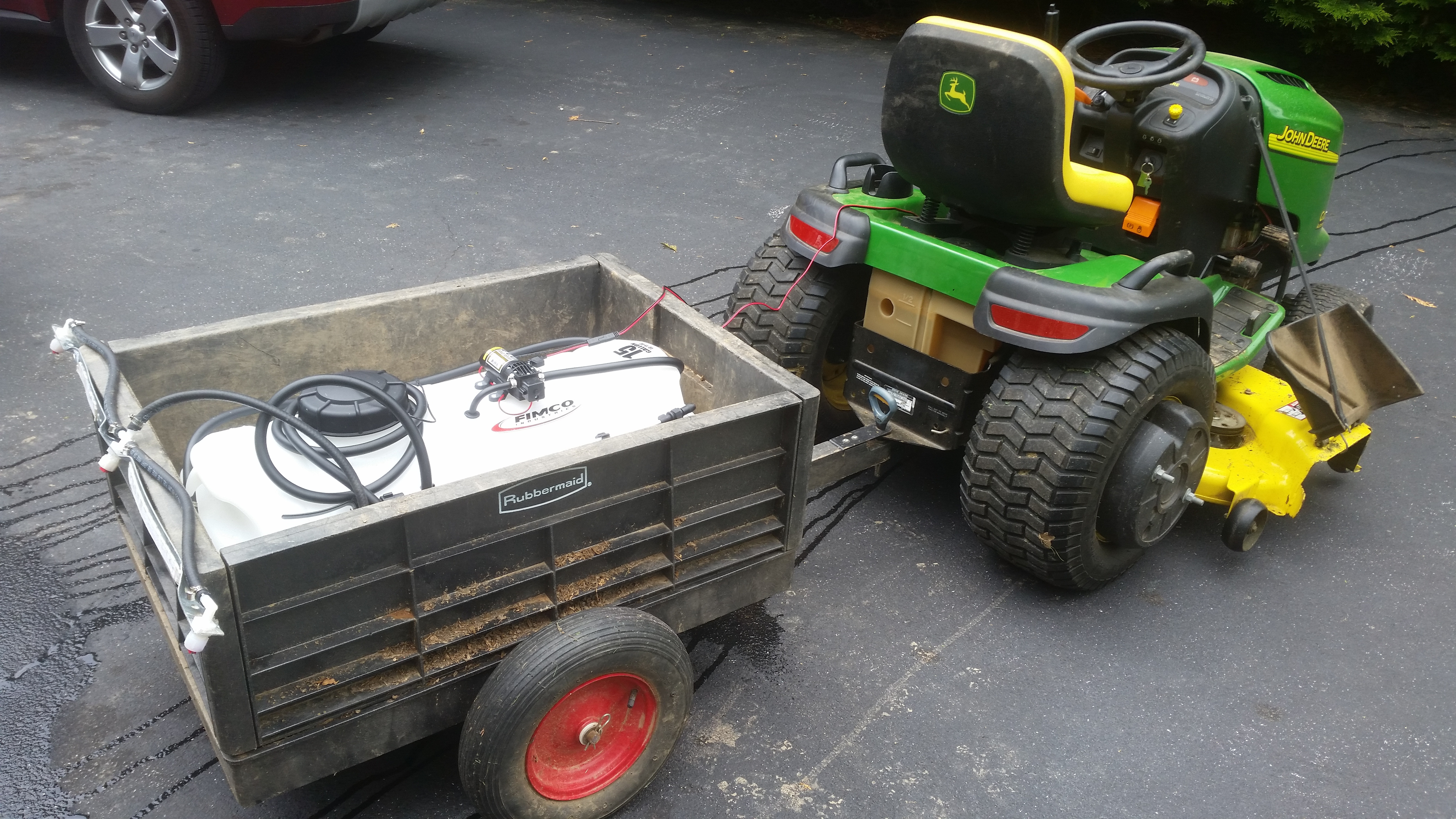 Best ideas about DIY Sprayer Boom Kit . Save or Pin My Cheap DIY Boom Sprayer MyTractorForum The Now.